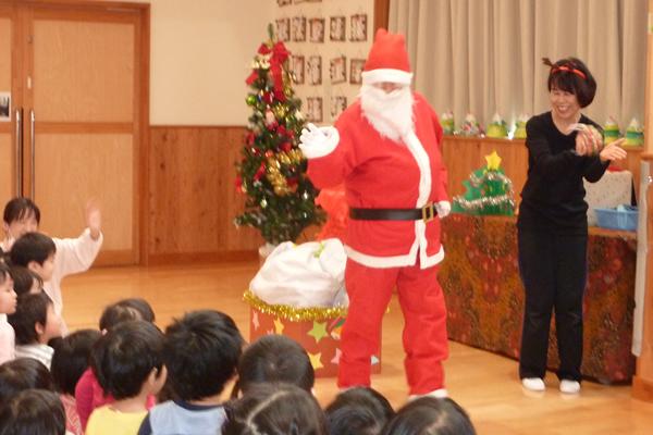 クリスマス会での様子