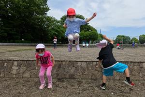 旧倉松公園に行ってきました!での様子