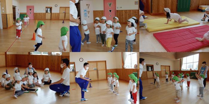 体育指導3歳児ぱんだ組